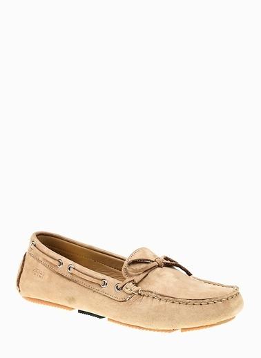 George Hogg Hakiki Deri Loafer Ayakkabı Bej
